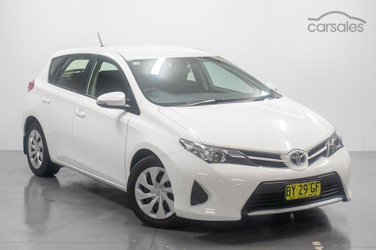 New Used Toyota Corolla White Cars For Sale In Sydney West New