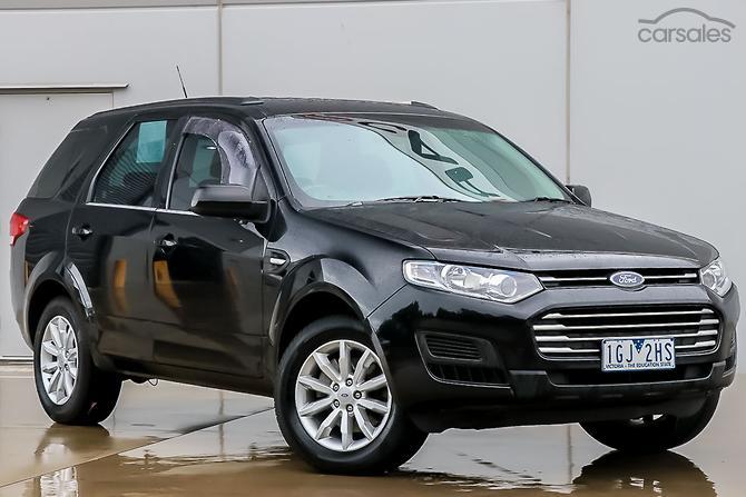 2017 Ford Territory Tx Sz Mkii Auto