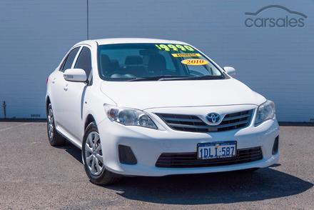 toyota corolla conquest 2010 specifications