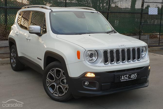 New Used Jeep Renegade Cars For Sale In Melbourne Victoria