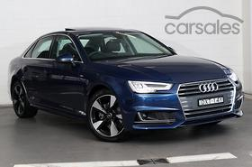 New Used Audi A S Line Blue Cars For Sale In Australia Carsales - 2018 audi a4 s line