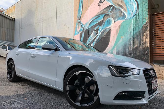 New Used Audi A5 White Cars For Sale In Australia Carsalescomau