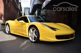 New & Used Ferrari 458 Italia cars for sale in Australia - carsales