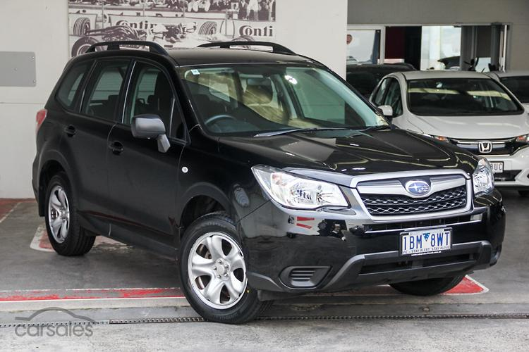 Black subaru forester