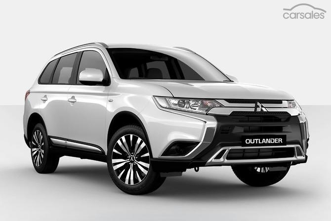 2018 Mitsubishi Outlander Es Zl Auto 2wd My19