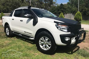 2015 Ford Ranger Wildtrak PX MkII Manual 4x4 Double Cab