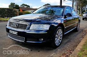 New Used Audi A Cars For Sale In Australia Carsalescomau - Used audi a8l for sale