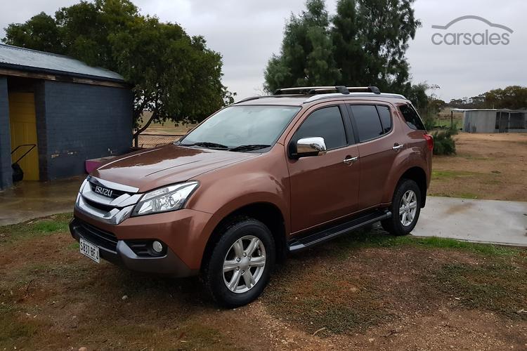 New Used Isuzu Mu X Bronze Offroad 4x4 Cars For Sale In Australia