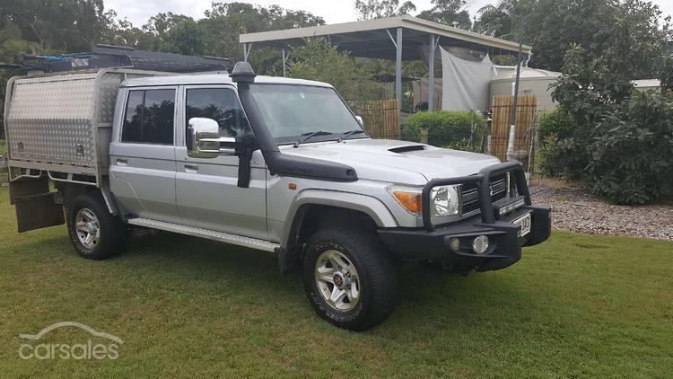 Toyota landcruiser hzj manual array new u0026 used toyota landcruiser vdj79r cars for sale in queensland rh carsales com fandeluxe Gallery