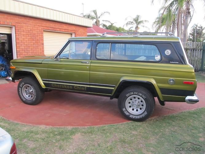 Jeep cherokee chief for sale australia