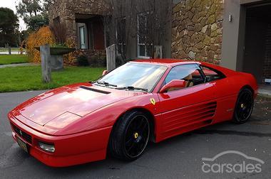 1991 ferrari 348 ts manual