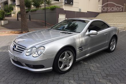 Mercedes benz sl55 amg auto my05 2004 mercedes benz sl55 amg auto my05 sciox Choice Image