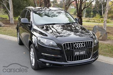 New Used Audi Q Cars For Sale In ACT Carsalescomau - Audi q7 car sales