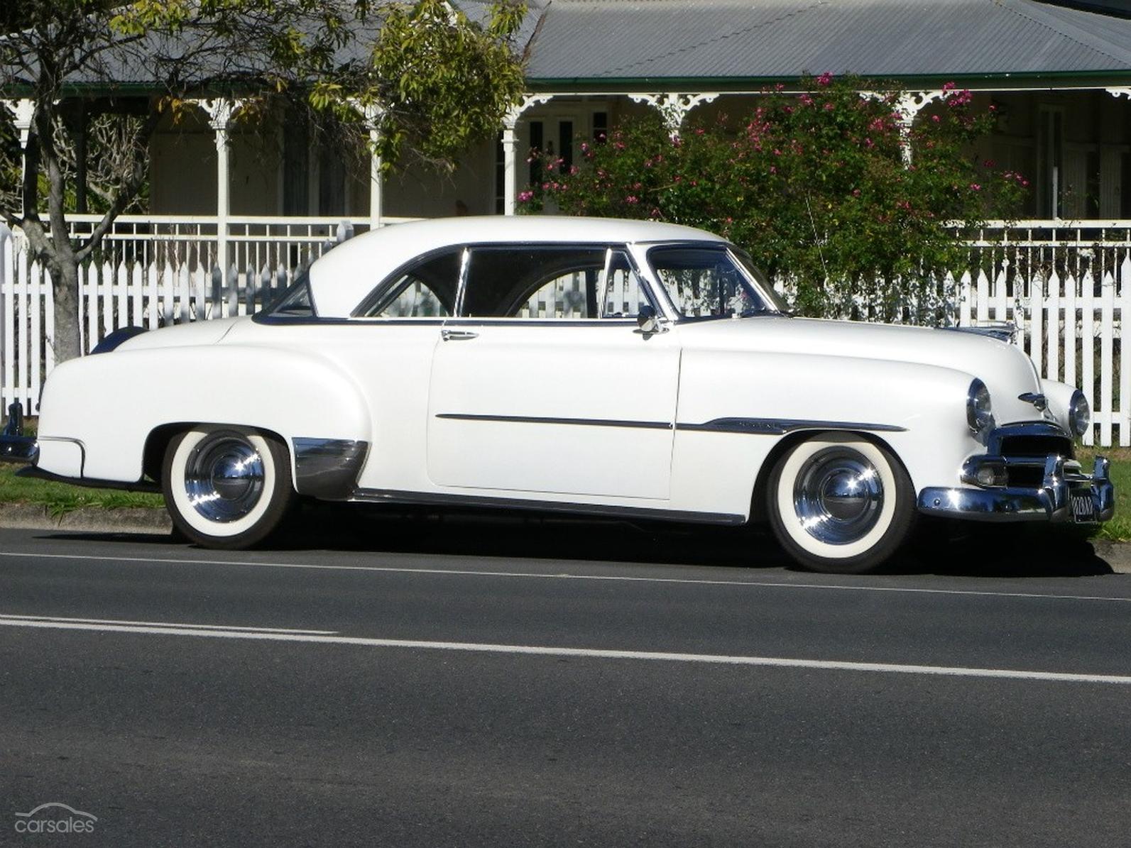 1951 Chevrolet Bel Air Deluxe Auto Sse Ad 1108945 4 Door