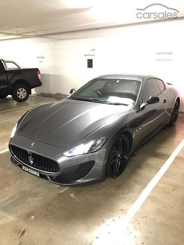 2014 Maserati GranTurismo Sport MC Auto MY15