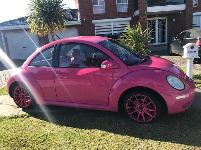 pink volkswagen beetle. 2007 volkswagen beetle miami 9c auto my08 pink