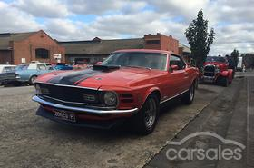 1970 Ford Mustang Mach 1 Auto