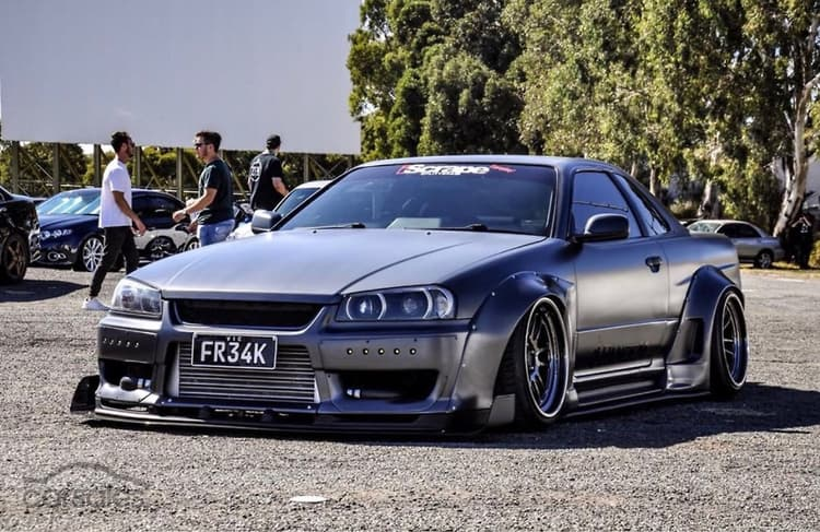 Exceptional 1998 Nissan Skyline 25GT T R34 Manual
