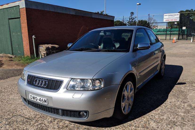 2002 Audi S3 Manual Quattro My02