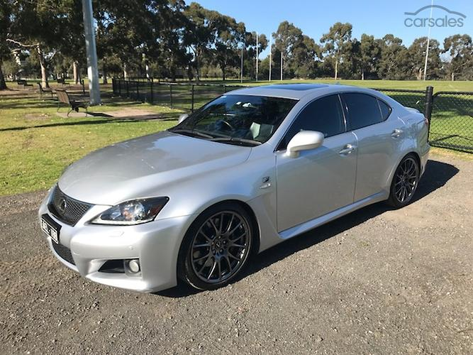 2011 Lexus IS F Auto MY12