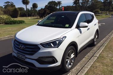 new used hyundai santa fe cars for sale in new south wales. Black Bedroom Furniture Sets. Home Design Ideas