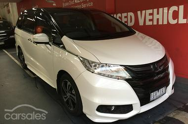 new used honda odyssey cars for sale in australia. Black Bedroom Furniture Sets. Home Design Ideas