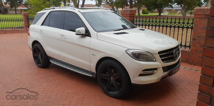 2012 Mercedes Benz ML350 BlueTEC Auto 4x4
