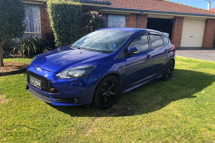 New Used Ford Focus St Blue Cars For Sale In Victoria Carsales