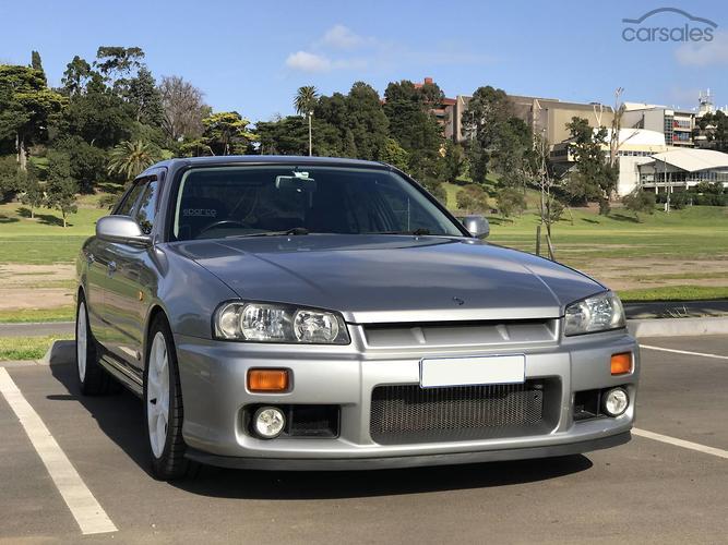 1998 Nissan Skyline 25GT T R34 Manual