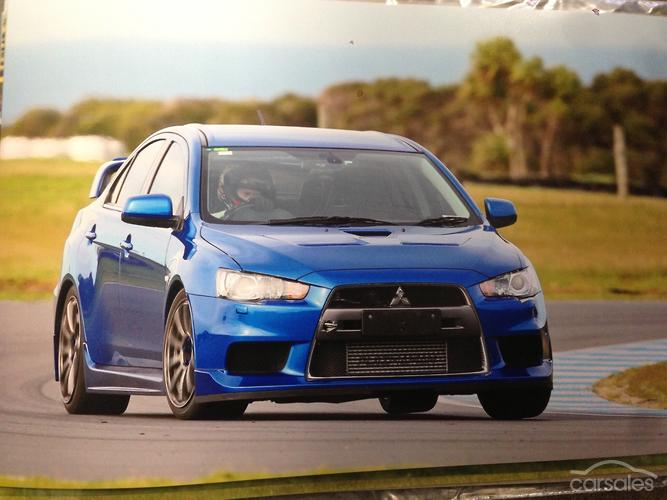 2009 Mitsubishi Lancer Evolution MR CJ Auto 4WD MY10