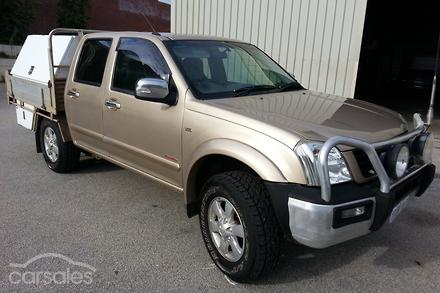 2006 Holden Rodeo Lt Ra Manual 4x4 My06