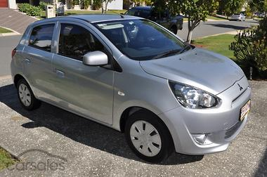 New used mitsubishi mirage cars for sale in queensland carsales 2014 mitsubishi mirage es la manual my14 fandeluxe Images