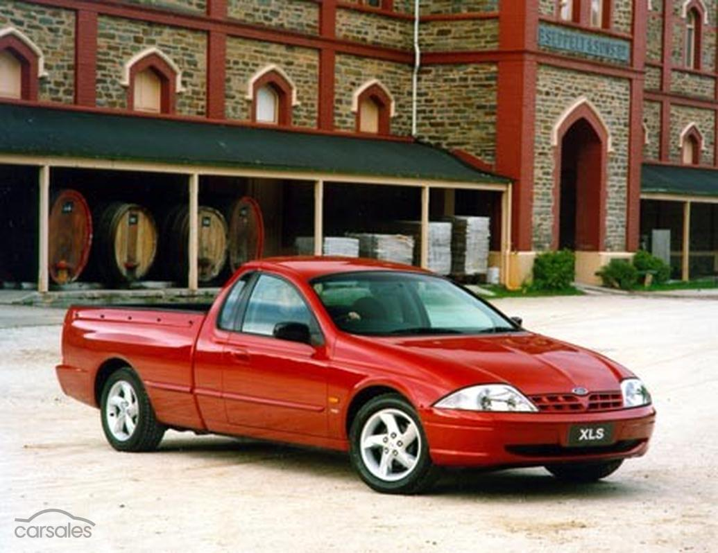 2000 Ford Falcon Ute XLS AU Manual Super Cab