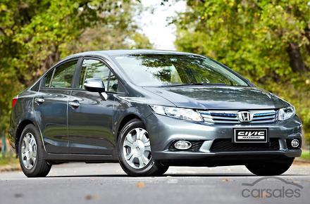 2013 Honda Civic Hybrid Auto My13
