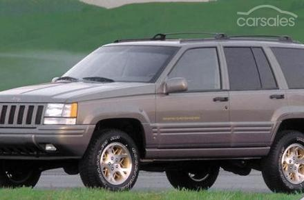 1998 jeep grand cherokee limited auto 4x4