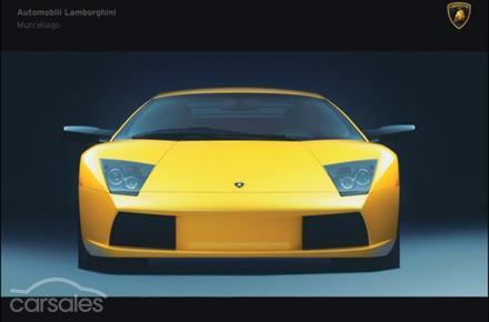 2002 Lamborghini Murcielago Manual Awd