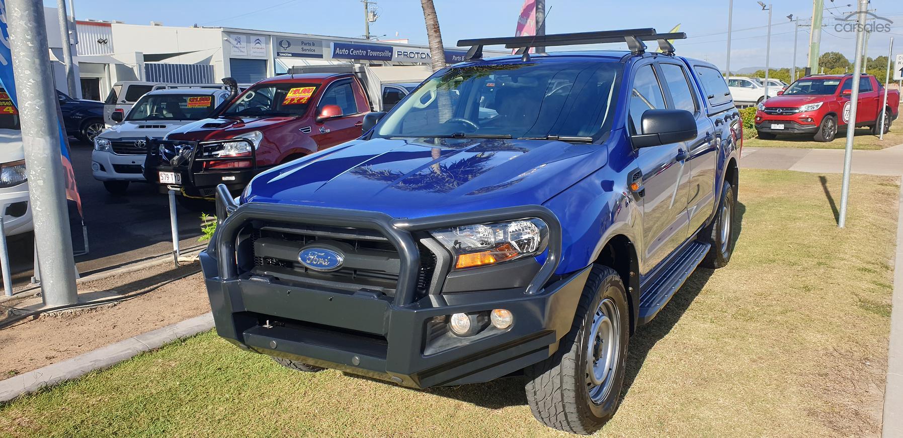 2017 Ford Ranger XL Plus PX MkII Auto 4x4 Double Cab-OAG-AD