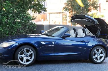 New & Used BMW Z Models Blue Convertible cars for sale in
