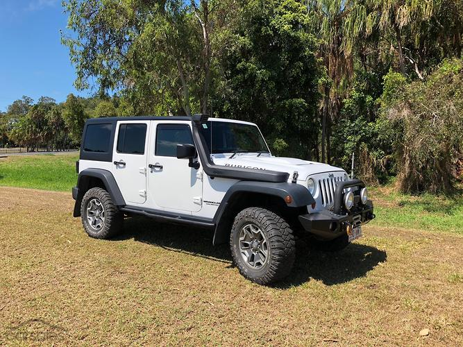 2012 Jeep Wrangler Unlimited Rubicon Auto 4x4 MY13
