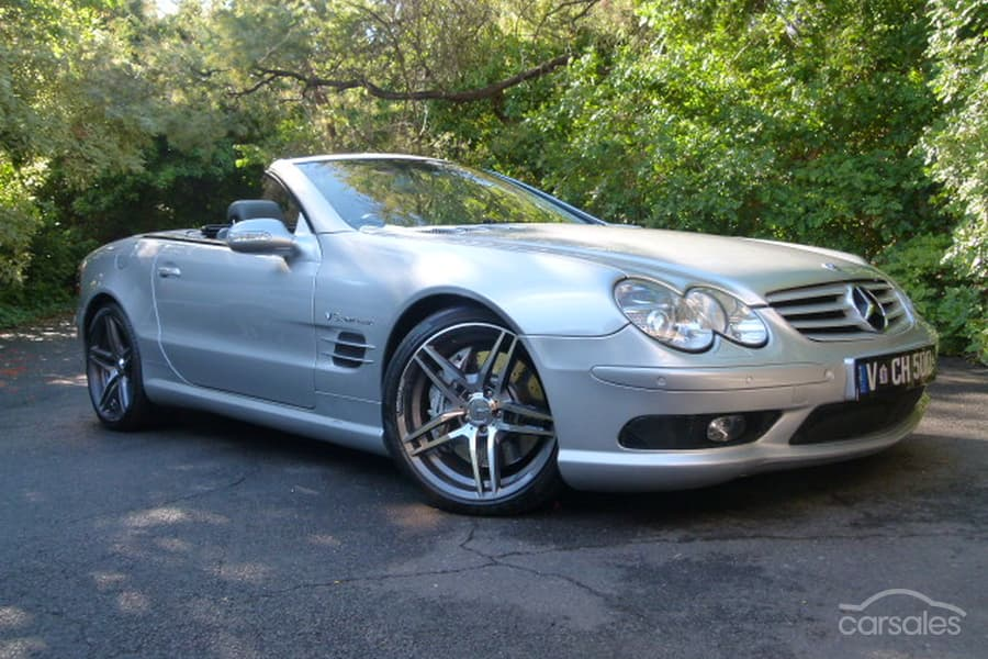 2002 Mercedes-Benz SL55 AMG Auto MY03-SSE-AD-5851688 - carsales com au