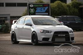 new & used mitsubishi lancer evolution mr cars for sale in australia