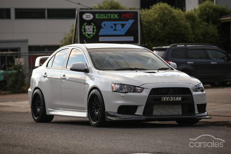 2014 Mitsubishi Lancer Evolution MR CJ Auto 4WD MY14