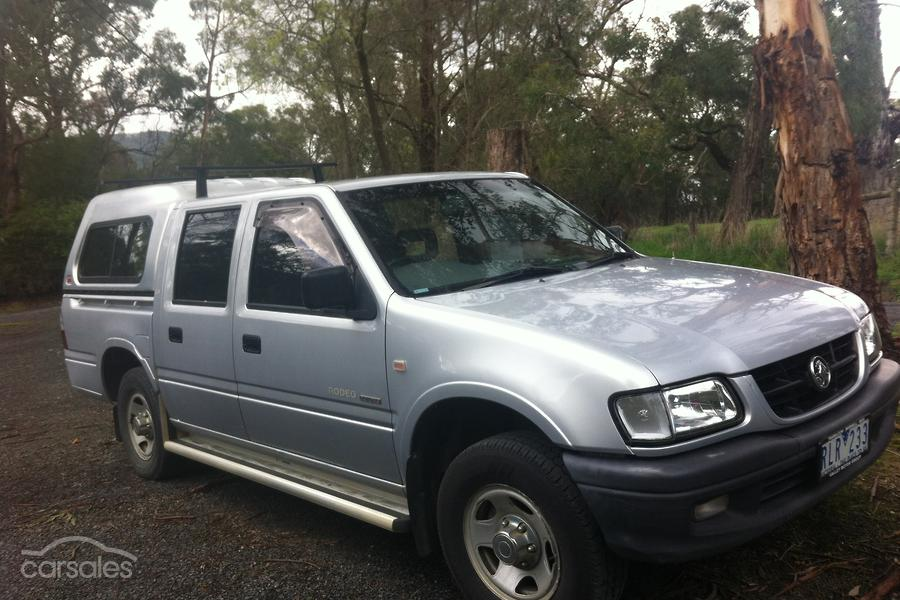 2002 Holden Rodeo LX TF Auto 4x2 MY02-SSE-AD-6184176