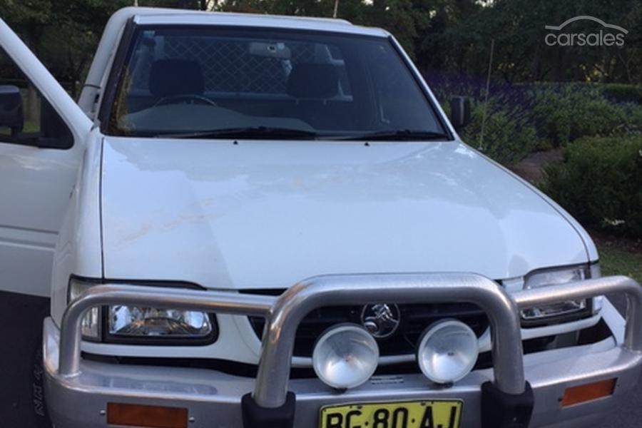 2001 Holden Rodeo LX TF R9 Manual 4x2-SSE-AD-6051411