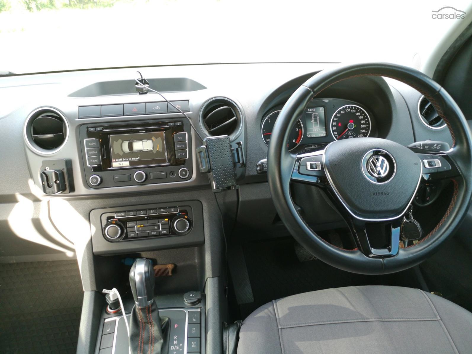 2015 Volkswagen Amarok TDI420 Canyon 2H Auto 4MOTION Perm