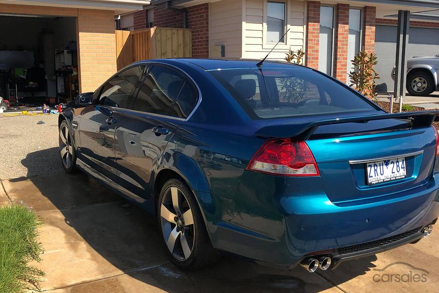 2013 Holden Commodore SV6 Z Series VE Series II Manual MY12 5-SSE-AD