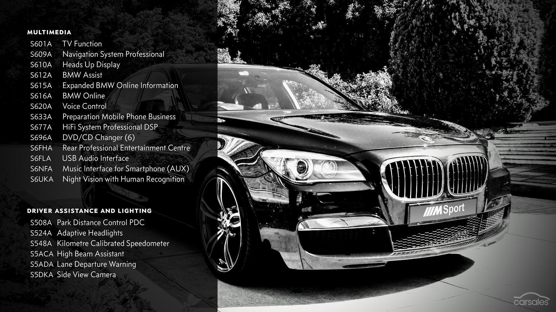 2010 BMW 750i F01 Auto MY10-SSE-AD-6022376 - carsales com au