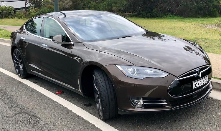 How many tesla cars in australia