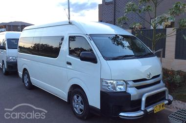 f696432336 New   Used Toyota Hiace Commuter cars for sale in Australia ...