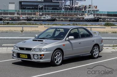 2000 Subaru Impreza WRX N Manual AWD MY00